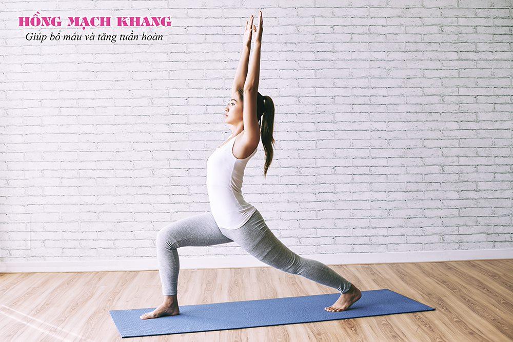Tập yoga giúp tăng tuần hoàn máu não
